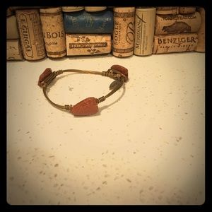 Amazing bourbon and bow tie bangle!